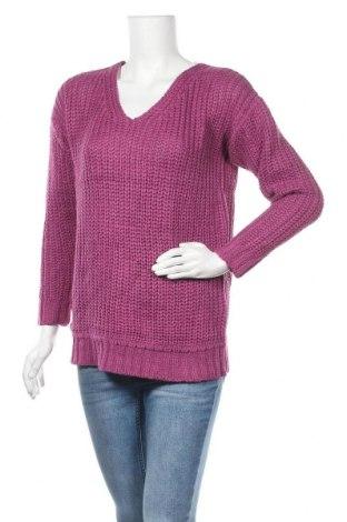 Дамски пуловер Kling, Размер M, Цвят Лилав, Акрил, Цена 23,60лв.