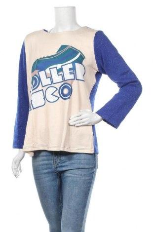 Дамска блуза Kling, Размер M, Цвят Многоцветен, 95% вискоза, 5% еластан, Цена 24,50лв.