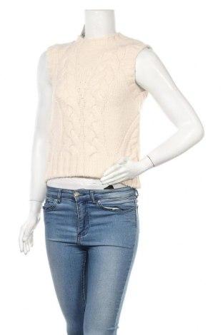 Γυναικείο πουλόβερ Mango, Μέγεθος S, Χρώμα  Μπέζ, 86%ακρυλικό, 8% πολυαμίδη, 6% πολυεστέρας, Τιμή 19,79€