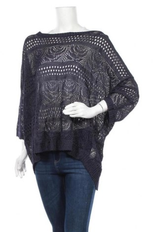 Γυναικείο πουλόβερ Miss Etam, Μέγεθος XXL, Χρώμα Μπλέ, 85% βισκόζη, 15% πολυαμίδη, Τιμή 7,02€