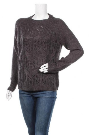 Дамски пуловер Montego, Размер L, Цвят Сив, 90% полиакрил, 5% полиестер, 5% полиамид, Цена 20,16лв.