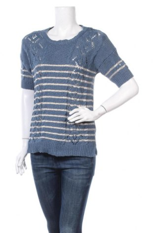 Дамски пуловер Oasis, Размер S, Цвят Син, 97% памук, 3% полиестер, Цена 9,19лв.