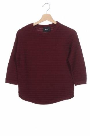 Дамски пуловер Object, Размер XS, Цвят Червен, Памук, Цена 14,40лв.