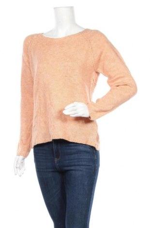 Дамски пуловер Sandwich_, Размер M, Цвят Розов, 54% акрил, 25% полиамид, 14% вълна, 7% полиестер, Цена 45,22лв.