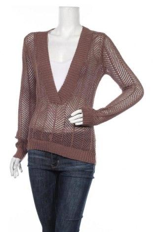 Дамски пуловер Sussan, Размер S, Цвят Кафяв, 51% акрил, 25% полиамид, 24% памук, Цена 3,00лв.