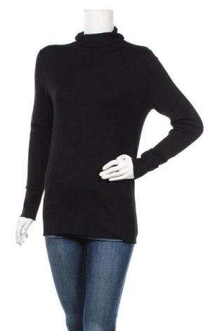 Дамски пуловер Triangle By s.Oliver, Размер M, Цвят Черен, 81% вискоза, 19% полиамид, Цена 29,60лв.