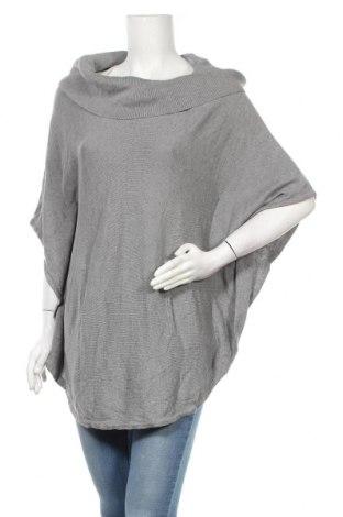 Дамски пуловер White House / Black Market, Размер S, Цвят Сив, 54% коприна, 36% вискоза, 10% вълна, Цена 39,20лв.