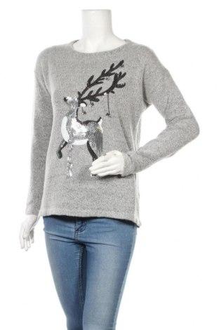 Γυναικείο πουλόβερ Yfl Reserved, Μέγεθος M, Χρώμα Γκρί, Ακρυλικό, Τιμή 12,93€