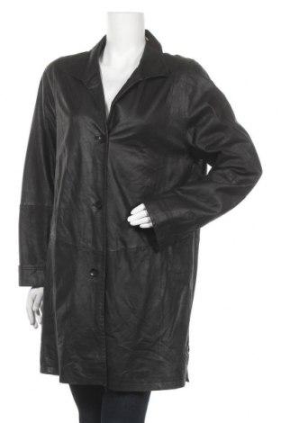 Дамски шлифер, Размер M, Цвят Черен, Естествена кожа, Цена 18,90лв.