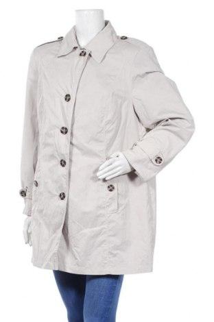 Дамски шлифер Barbara Lebek, Размер XL, Цвят Сив, 54% полиестер, 46% полиамид, Цена 60,52лв.