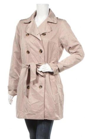Дамски шлифер Janina, Размер M, Цвят Бежов, 59% памук, 41% полиестер, Цена 10,24лв.