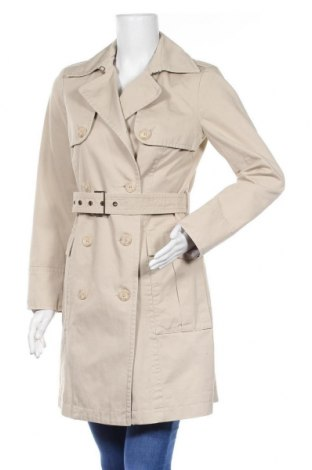 Дамски шлифер Sisley, Размер L, Цвят Бежов, Памук, Цена 54,60лв.