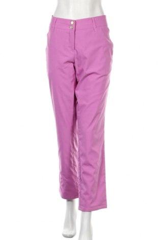 Γυναικείο αθλητικό παντελόνι Brax Golf, Μέγεθος XL, Χρώμα Ρόζ , Πολυεστέρας, Τιμή 15,14€