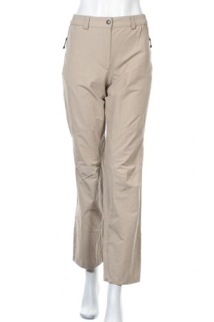 Дамски спортен панталон Trevolution, Размер L, Цвят Бежов, 82% полиестер, 12% памук, 6% еластан, Цена 7,35лв.