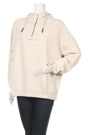 Γυναικείο φούτερ Review, Μέγεθος M, Χρώμα  Μπέζ, Βαμβάκι, Τιμή 20,10€