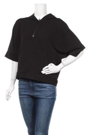 Γυναικείο φούτερ Zara, Μέγεθος S, Χρώμα Μαύρο, Τιμή 13,19€