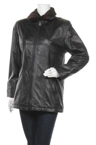 Γυναικείο δερμάτινο μπουφάν, Μέγεθος S, Χρώμα Μαύρο, Γνήσιο δέρμα, Τιμή 30,01€