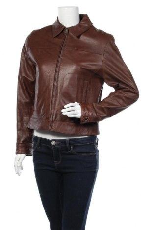 Дамско кожено яке Cabrini, Размер S, Цвят Кафяв, Естествена кожа, Цена 19,43лв.