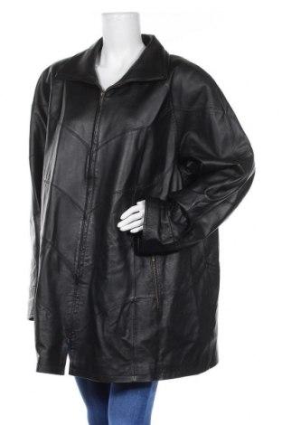 Дамско кожено яке Collection Chalice, Размер XXL, Цвят Черен, Естествена кожа, Цена 100,80лв.