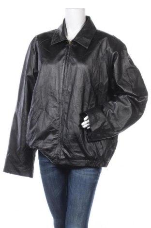 Дамско кожено яке Covington, Размер XL, Цвят Черен, Естествена кожа, Цена 17,33лв.