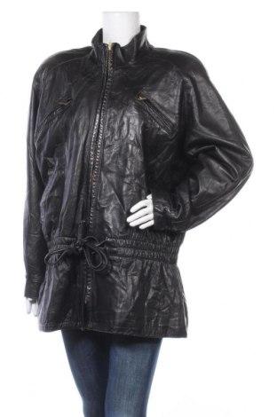 Дамско кожено яке Danier, Размер L, Цвят Черен, Естествена кожа, Цена 86,10лв.