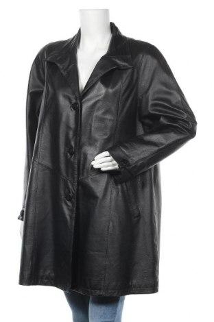Дамско кожено яке Fabiani, Размер M, Цвят Черен, Естествена кожа, Цена 22,58лв.