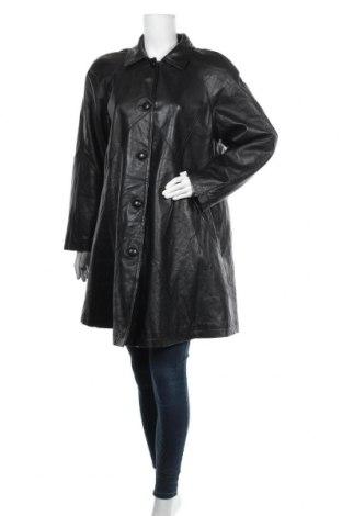Дамско кожено яке Fabiani, Размер XL, Цвят Черен, Естествена кожа, Цена 71,40лв.