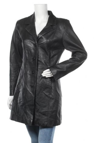 Γυναικείο δερμάτινο μπουφάν Gipsy, Μέγεθος M, Χρώμα Μαύρο, Γνήσιο δέρμα, Τιμή 31,60€