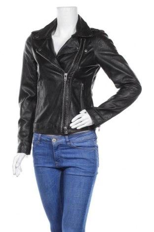 Γυναικείο δερμάτινο μπουφάν Goosecraft, Μέγεθος XS, Χρώμα Μαύρο, Γνήσιο δέρμα, Τιμή 134,93€