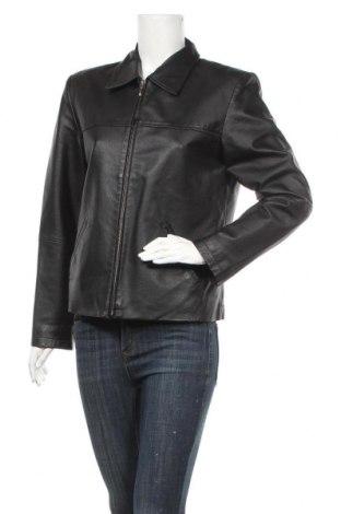 Дамско кожено яке Joy, Размер M, Цвят Черен, Естествена кожа, Цена 63,21лв.