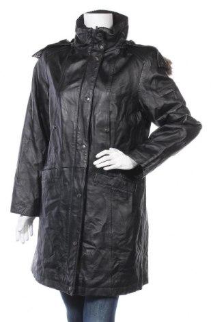 Дамско кожено яке Joy, Размер L, Цвят Черен, Естествена кожа, Цена 72,45лв.