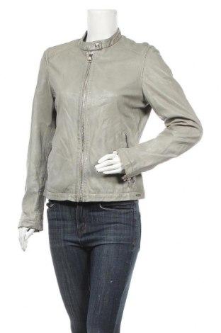 Γυναικείο δερμάτινο μπουφάν Rino & Pelle, Μέγεθος L, Χρώμα Γκρί, Γνήσιο δέρμα, Τιμή 154,25€