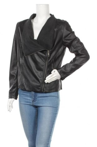 Дамско кожено яке Splendid, Размер M, Цвят Черен, Еко кожа, Цена 19,50лв.