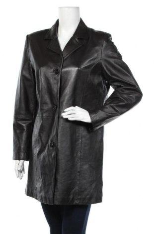 Дамско кожено яке TCM, Размер M, Цвят Кафяв, Естествена кожа, Цена 64,84лв.