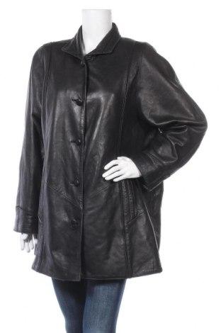 Дамско кожено яке Your Sixth Sense, Размер XL, Цвят Черен, Естествена кожа, Цена 18,09лв.