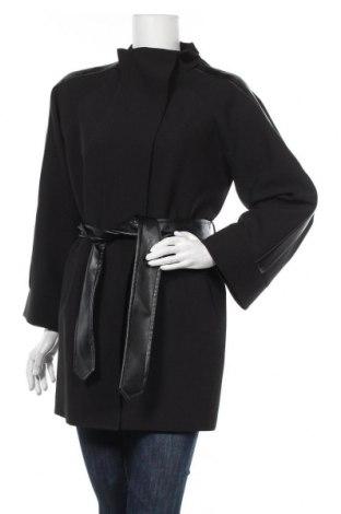 Dámský kabát  Denny Rose, Velikost M, Barva Černá, 93% polyester, 7% elastan, Cena  1337,00Kč