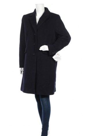 Дамско палто Fuchs & Schmitt, Размер XL, Цвят Син, 60% вълна, 20% кашмир, 20% полиамид, Цена 164,67лв.