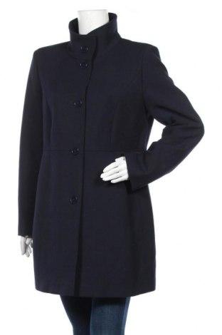 Дамско палто Fuchs & Schmitt, Размер M, Цвят Син, 65% полиестер, 32% вискоза, 3% еластан, Цена 104,65лв.