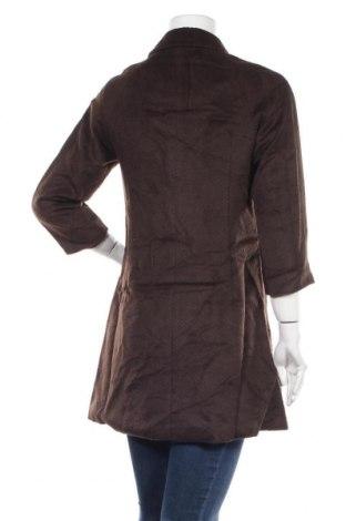 Дамско палто Kling, Размер S, Цвят Кафяв, 80% полиестер, 20% вискоза, Цена 32,80лв.