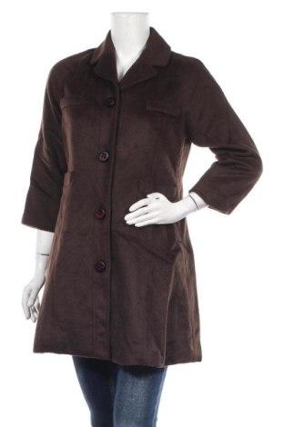 Дамско палто Kling, Размер M, Цвят Кафяв, 80% полиестер, 20% вискоза, Цена 34,44лв.