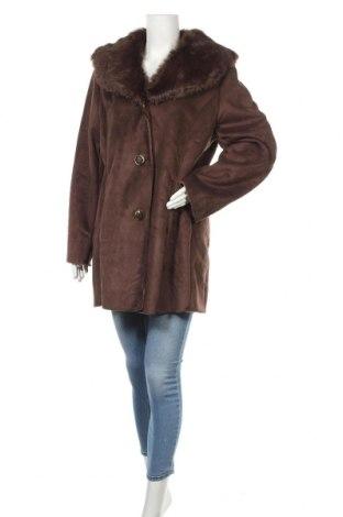 Дамско палто Lee Cooper, Размер L, Цвят Кафяв, Полиестер, Цена 63,07лв.