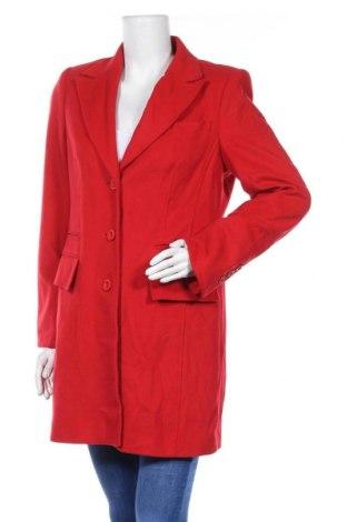Дамско палто Madeleine, Размер M, Цвят Червен, 60% вълна, 20% кашмир, 20% полиестер, Цена 50,60лв.