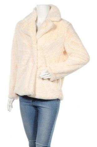 Дамско палто Reserved, Размер S, Цвят Екрю, Полиестер, Цена 79,00лв.