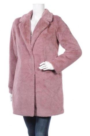 Дамско палто Review, Размер XS, Цвят Розов, Полиестер, Цена 114,00лв.