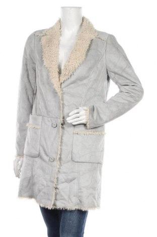 Дамско палто Sandwich_, Размер M, Цвят Сив, Полиестер, Цена 41,42лв.