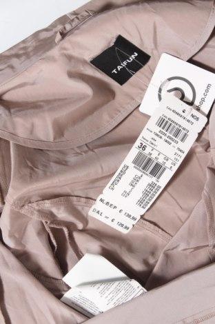 Дамско палто Taifun By Gerry Weber, Размер S, Цвят Бежов, 52% полиестер, 48% памук, Цена 37,80лв.