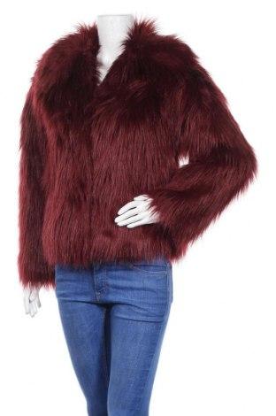 Дамско палто Topshop, Размер S, Цвят Червен, Полиестер, Цена 48,95лв.