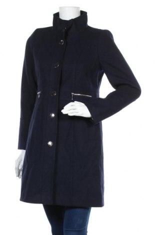 Palton de femei Wallis, Mărime S, Culoare Albastru, 91% poliester, 6% viscoză, 3% elastan, Preț 156,48 Lei