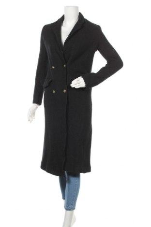 Palton de femei Zara Trafaluc, Mărime S, Culoare Negru, 52% lână, 48% viscoză, Preț 130,26 Lei