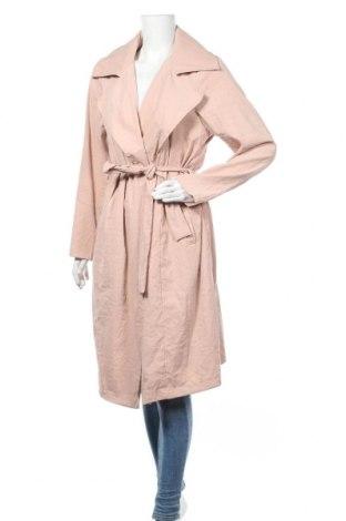 Дамско палто Zizzi, Размер L, Цвят Розов, 92% полиакрил, 8% полиамид, Цена 27,30лв.